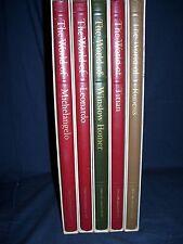 Time Life Library of Art 1966 Book Lot Titan Michelangelo Homer Leonardo Ruebens