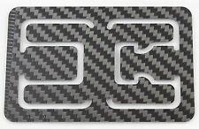 Carbon Fiber RFID Block Flexy Thin Money Clip Card Holder Wallet Bottle Opener