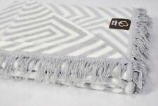 Mantas multicolores de 100% algodón
