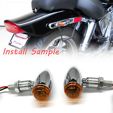 For Honda Shadow Spirit 750 Aero 750 Motorcycle Bike LED Turn Signal Blinker Lig
