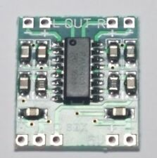 Placa De Amplificador Digital Mini-Canales 2x3w-PAM8403 - 5 V USB-libre de Reino Unido P&p