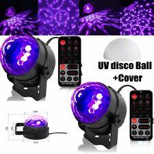 2X UV Disco Lichteffekt LED Discokugel Bühnenbeleuchtung Schwarzlicht Partylicht