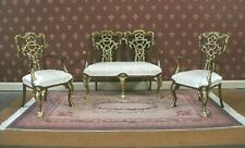 3 PIECE  LIVING  ROOM  SET ~ BESPAQ ~ Dollhouse ~ 1:12 scale ~ Custom Finish