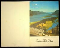 Vintage Southern Pacific Railway Dining Car Dinner Menu 1949