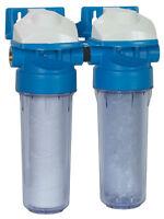 """Wasserfilter Wasserenthärtung SET CFA + CSP Patrone Wandhalterung 9""""3/4 PRFIL9D2"""
