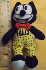 "Felix The Cat Plush Toy Stuffed Animal 5"""