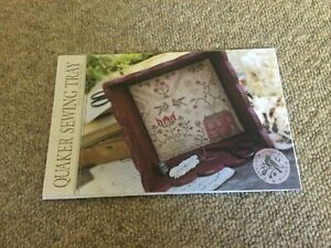 Quaker Sewing Tray Cross Stitch Design By Brenda Gervais