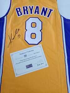 Kobe Bryant Signed Los Angeles Lakers Jersey nba certificate coa