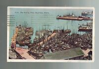 1939 Juneau Ketchikan Alaska Fishing Fleet RPPC Real Picture Postcard Cover