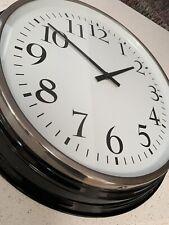 IKEA BRAVUR Large Wall Clock Black