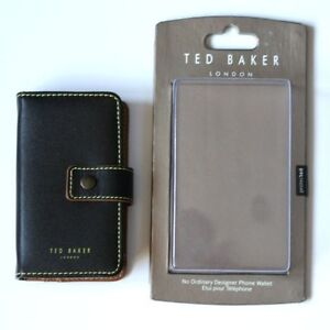 Ted Baker Universal Leather Phone Case BNWT Card Wallet Iphone 3g 4 4s   RRP £29