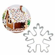 Christmas Snows Stainless Steel Cookie Cutter Cake Biscuit Mould Kitchens Tools