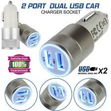 12V Dual USB Fast Car Cigarette Lighter Socket Splitter Charger Power Adapter US