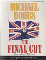 Michael Dobbs The Final Cut 2 Cassette Audio Book Abridged House Of Cards 3