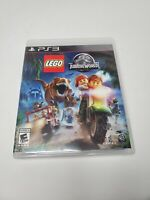 LEGO Jurassic World Sony PlayStation 3 PS3 Game Complete With Manual Tested