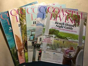Coastal Living Magazine 2017 & 2018  - *You Pick 2* - Free Shipping