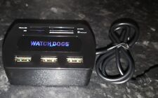 Watch Dogs Hub USB lecteur de carte promo PS4 XBOX ONE 360 PS3 RARE bonus exclusifs 2