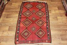 Handgewebter Kelim 125x219 cm Orientteppich Nomadenteppich Nomadenkelim NEU