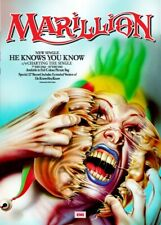 MARILLION - HE KNOWS YOU KNOW - NEW SINGLE POSTER