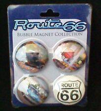 Route 66 Bubble Magnets Set of 4