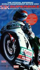2002 World Superbike Review VHS New BSB