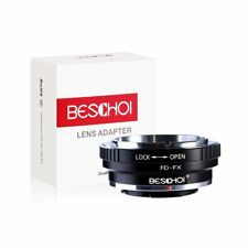Beschoi FD-FX Lens Adapter Ring for Canon FD Lens to Fujifilm FX Mount Cameras