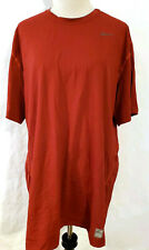 MENS NIKE PRO TIGHT FITTED Compression TRAINING SHIRT DRI-FIT Red 3XL READ!!