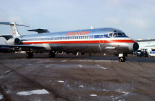 """American Airlines McDonnell Douglas MD-80 N298AA BNA 1987 8""""x12"""" Color Print JS"""