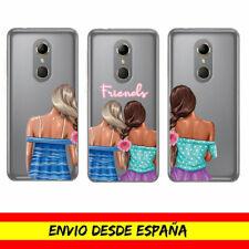 Funda Movil Vodafone Amigas Friends Moda Fashion Cover Case Dibujo Carcasa