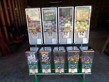 Northwestern 9 Toy Capsule Bulk Vending Machine With Rack, Keys & Inventory