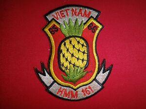 """Vietnam War US Marines HMM-161 """"VIETNAM 65-66"""" Patch"""