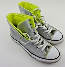 CONVERSE Chuck Taylor Mens 6 Womens 8 CT Two Fold High Mirage Gray 136624C