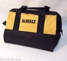 """New DeWalt 13"""" x 11"""" x 9,5"""" Contractors Tool Bag Heavy Duty Nylon"""
