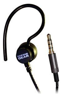 Far End Gear XDU Recon Single Earhook Headphone Stereo to Mono (Black)