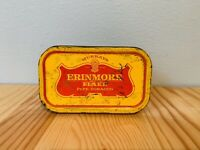 Vintage Antique Collectable Original Murrays Erinmore Pipe Tobacco Flake Tin