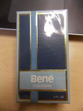Rare Vintage Original Bene Cologne By Ben Rickert New Sealed Box 4 oz