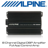 Alpine PDP-E800DSP - 8 Channel Digital DSP Amplifier Full App Control Amp