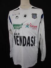 Maillot de football vintage porté SC BASTIA JULES GODA Ligue 2 2007 Blanc Taille