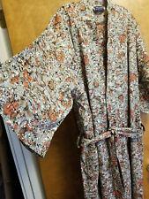 100% Cotton Men' Sauna Shower Bathrobe Dress Nightgowns Sleepwear Robes Kimono