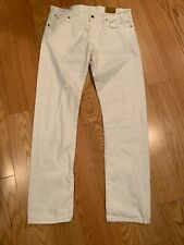 Polo Ralph Lauren Hampton Straight-Fit Jeans Size 34X34 BNWT White Men's Pant