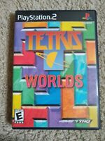 Tetris Worlds Video Game-Sony PlayStation 2 (2002)-Very Good