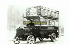 rp12683 - British Automobile Traction Bus c1912 - photo 6x4