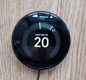 NEST thermostat 3rd generation black Thermostat DIAL ONLY