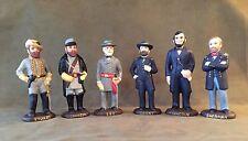 6 Figure Set Generals of American Civil War, Great Christmas Present