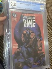 BATMAN VENGEANCE of BANE #1 (1993) CGC 9.8 🔥 1st Appearance 🔥 WHITE PAGES 🔑