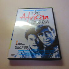 The African Queen Katharine Hepburn Humphrey Bogart Korean language Dvd