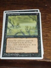 MTG Magic Gathering GAZ DES MARAIS 4th ed French RARE top condition