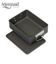Mermaid Hard Anodised Deep Roasting Roaster Pan Tin Dish & Tray
