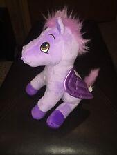 "Disney Sofia the 1st Purple Horse Pegasus Minimus 2013 Jakks Pacific 6"" tall NP1"