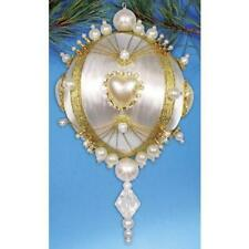 Design Works Pearl Beaded Ornament Kit ~ NEW in Box